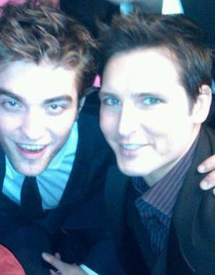 New Picture of Robert Pattinson and Peter Facinelli at the New Moon After Party