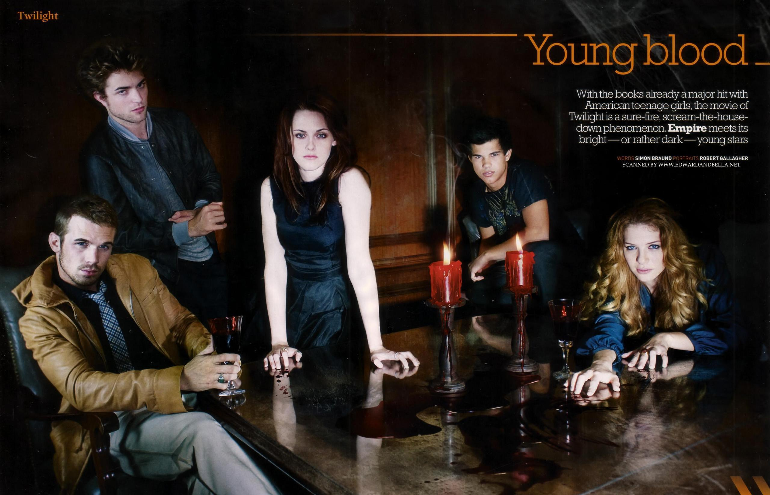 New and Old Empire Magazine Outtakes with Robert Pattinson and Kristen Stewart