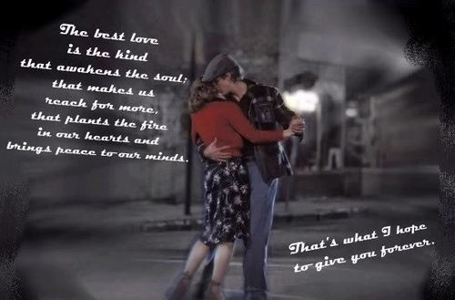 The Notebook wallpaper probably containing a sign and a street titled Noah&Allie