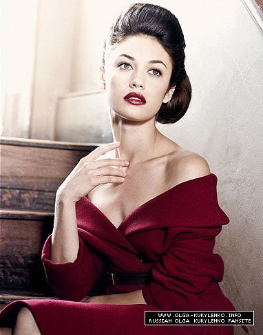 Olga Kurylenko | Benjamin Kaufmann Photoshoot