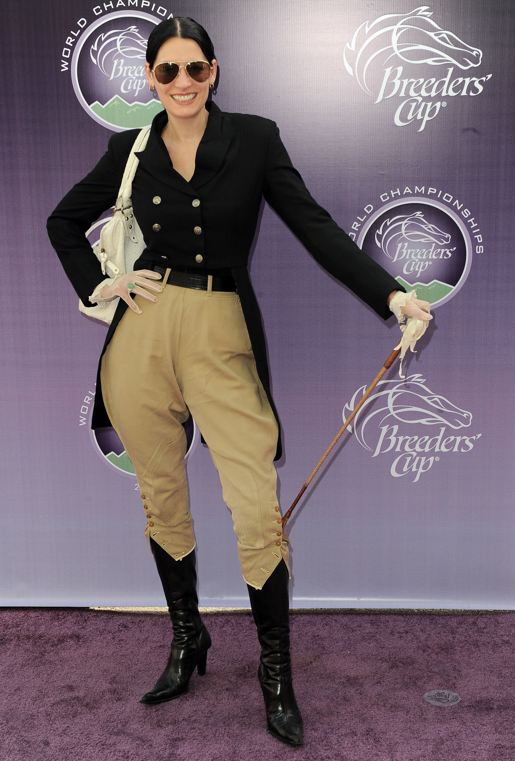 Paget Brewster @ Breeders' Cup World Championships