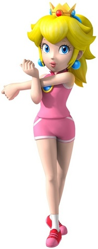 Peach in Mario & Sonic at the Olympic Games