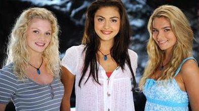 Phoebe, Cariba and Indiana