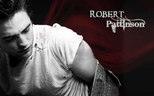 R.Pattinson karatasi za kupamba ukuta <3