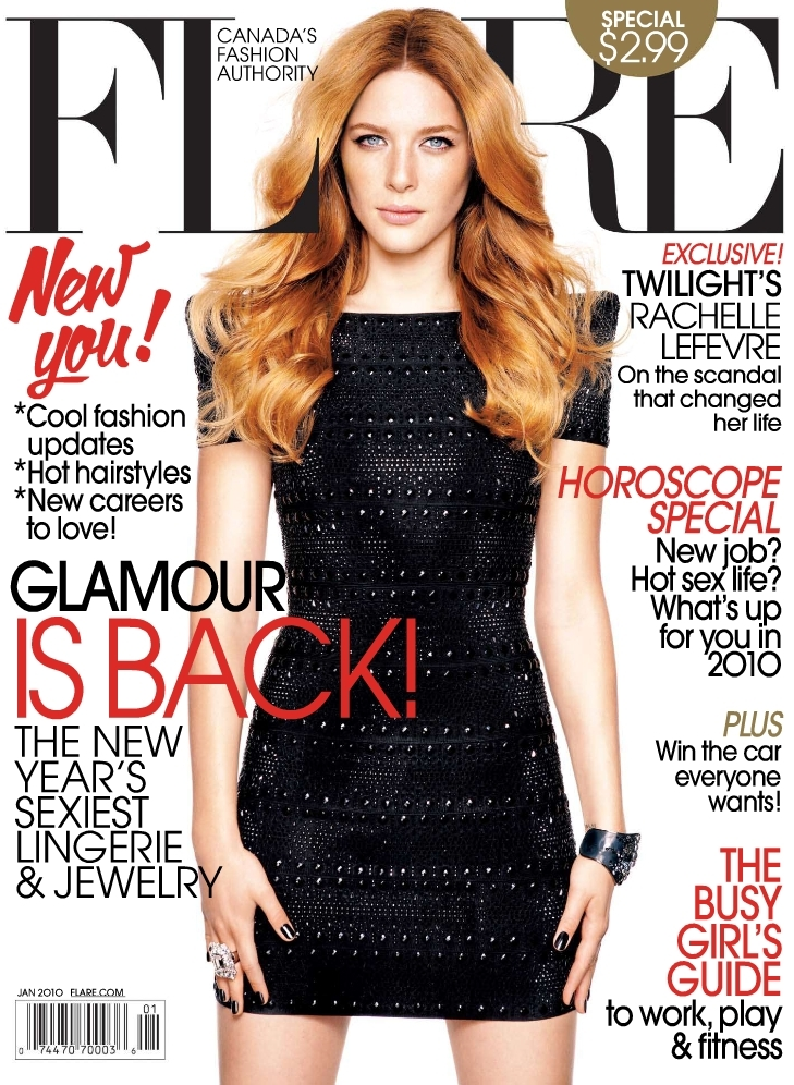 Rachelle Lefevre in Flare Magazine - rachelle-lefevre photo