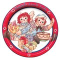 Raggedy Ann And Andy Paper Plate - raggedy-ann-and-andy fan art