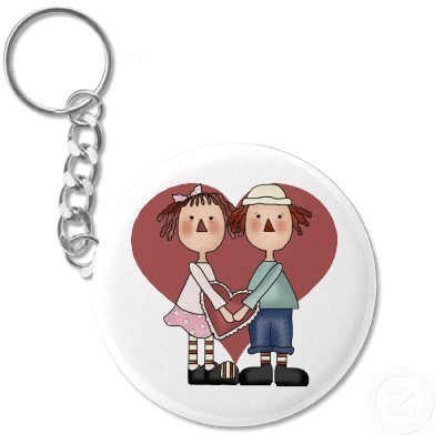 Raggedy Ann And Andy Key Chain - raggedy-ann-and-andy Fan Art