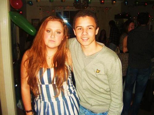 Rebecca & her cousin David