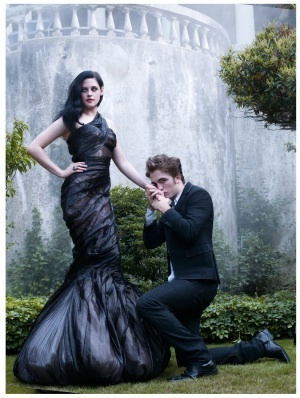 Rob Pattinson and Kristen Stewart Harper's Bazaar