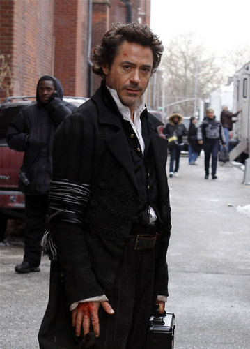 Robert Downey Jr. as Holmes