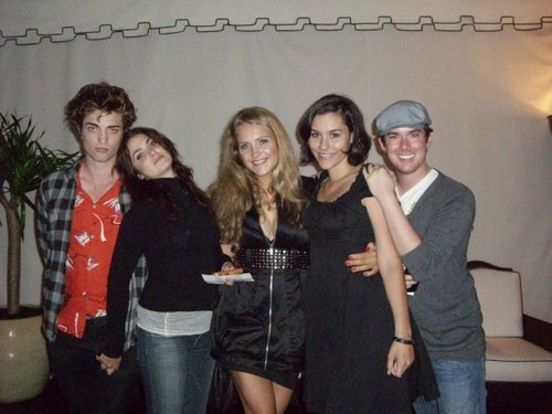 Robert, Nikki and friends