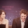 Robert Pattinson & Kristen Stewart चित्र with a business suit and a portrait called Robert and Kristen