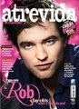 Robert on the cover of a Brazillan mag - twilight-series photo