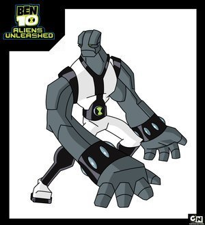 Ben 10: Alien Force wallpaper with anime entitled Rockhard