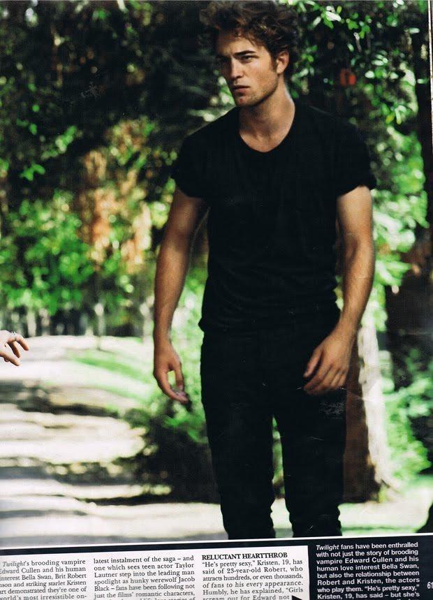 Round-up of Magazine Scans with Robert Pattinson