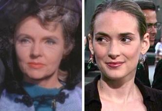 Ryder as ''amanda'' spock's mother