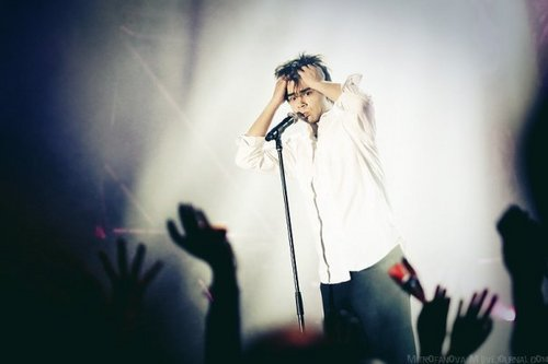 Sasha 音乐会 in Moscow 28/11/09