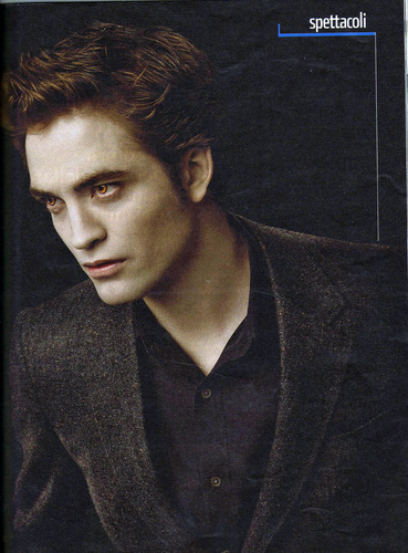 Scans: Rob in Italian Magazine Panorama