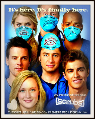 Scrubs Season 9 poster - It's finally here!