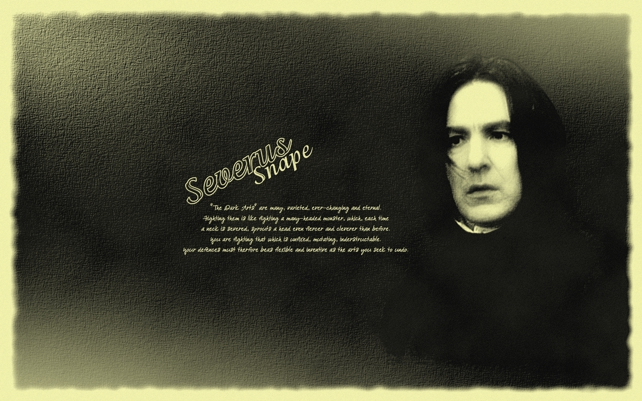 Snape - Dark Arts - Severus Snape Wallpaper (9209837) - Fanpop