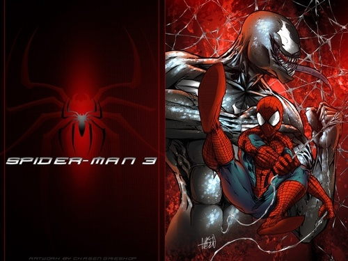 Spider-Man kertas dinding containing Anime entitled Spider-Man