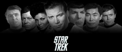star, sterne Trek banner - New Movie style