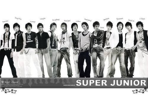 Super Junior wallpaper entitled SuJu Members