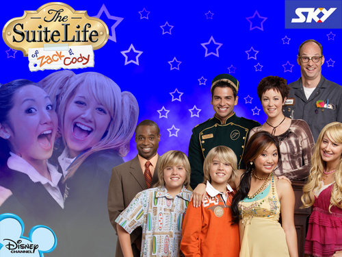 Disney Channel Girls fond d'écran titled Suite Life of Zack and Cody