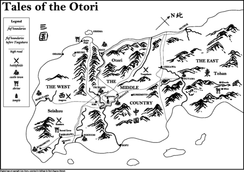 Tales of the Otori - map