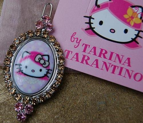 "Tarina Tarantino ""Pink Head"" Hello Kitty Jewelry"