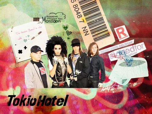 Tokio.Hotel wallpaper <3