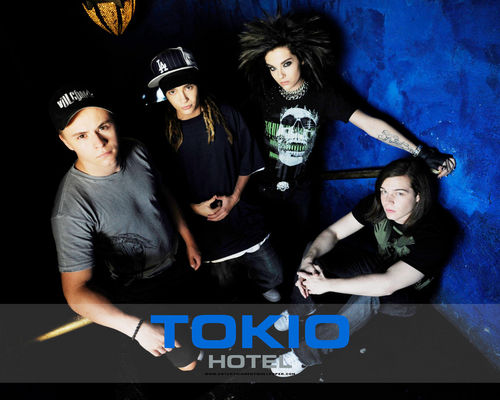 Tokio Hotel پیپر وال possibly with a sign called Tokio.Hotel پیپر وال <3