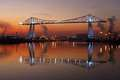 Transporter Bridge Middlesbrough England