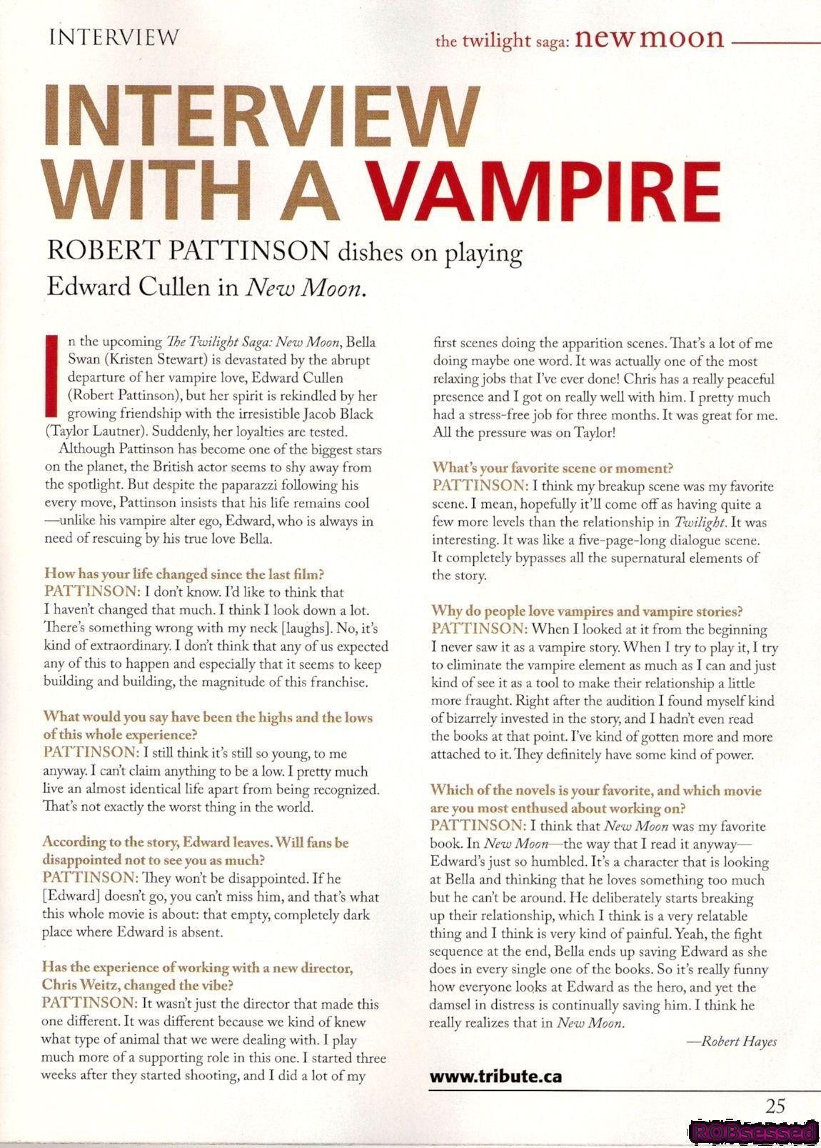 Tribute Magazine scans
