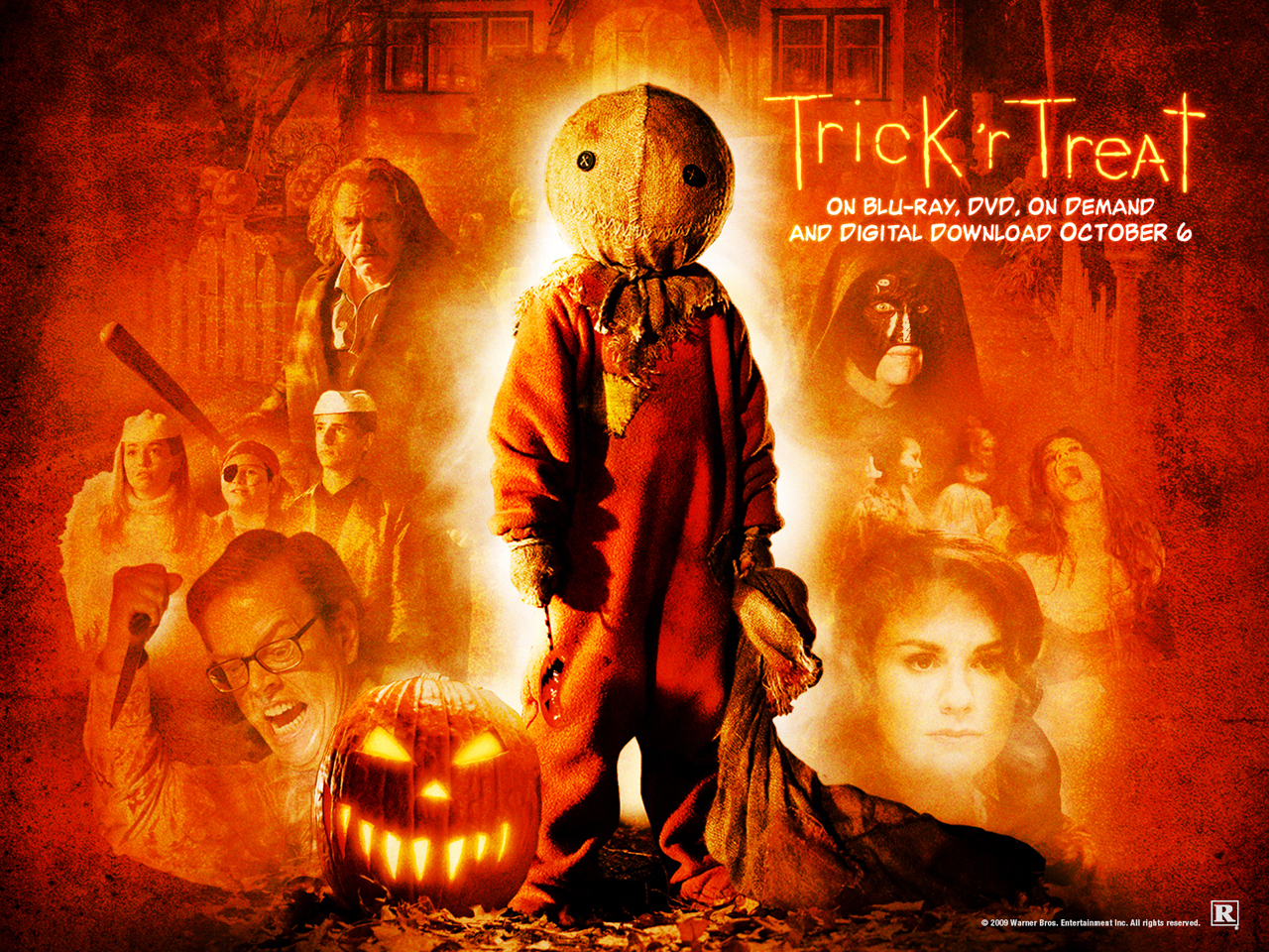 trick or treat A bullied teenage boy is devastated after the death of his heavy metal idol, sammi curr but as hallowe'en night approaches, he discovers that he may be the only one who can stop sammi from making a satanic comeback from beyond the grave.