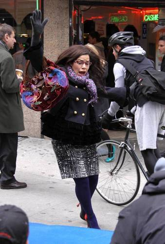 Ugly Betty - Set Photos - 23rd Nov