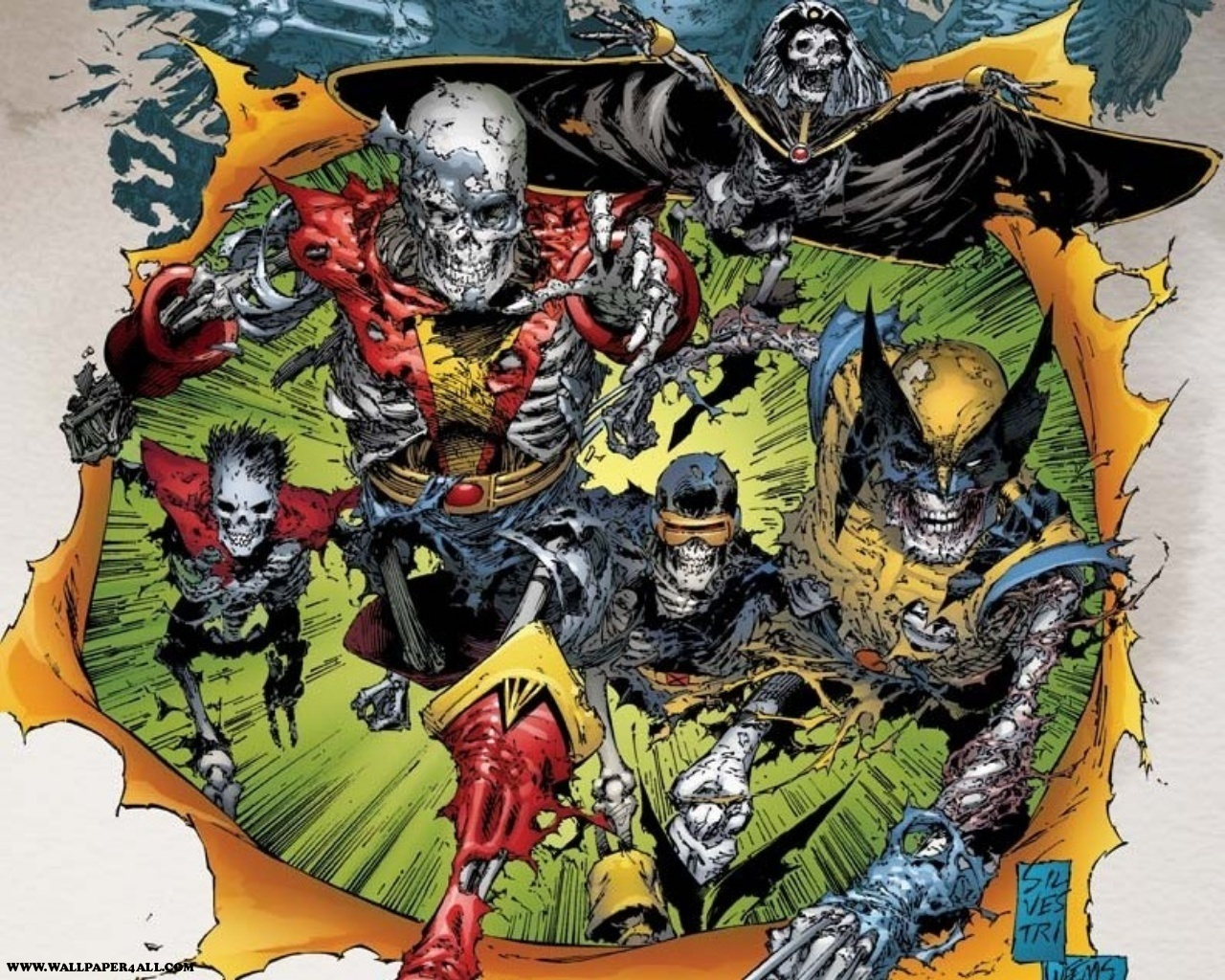 Marvel comics undead x men
