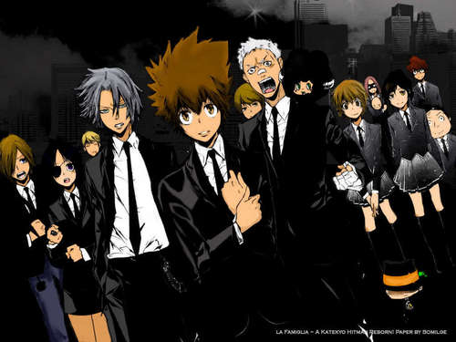 Vongola - katekyo-hitman-reborn Wallpaper