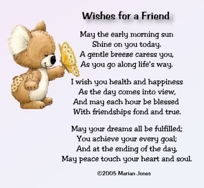 Wishes for Friends