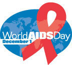 World Aids دن Logo