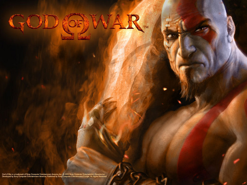 wallpaper god of war. XGOD OF WARX - God of War
