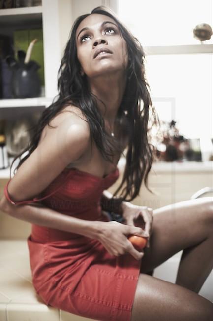 Zoe Saldana   Esquire Photoshoot (2009)