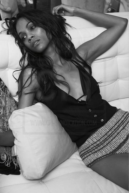Zoe Saldana | Esquire Photoshoot (2009)