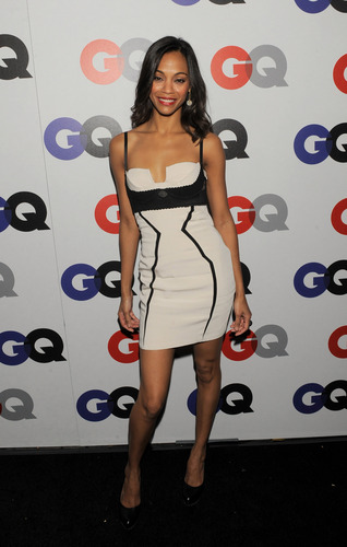 Zoe Saldana | GQ Men of the साल Party (HQ)