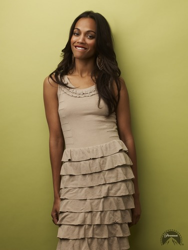 Zoe Saldana | तारा, स्टार Trek Promotional Photoshoot (2009)