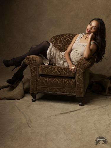 Zoe Saldana | 星, 星级 Trek Promotional Photoshoot (2009)