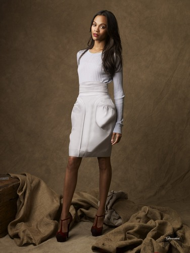 Zoe Saldana | ngôi sao Trek Promotional Photoshoot (2009)