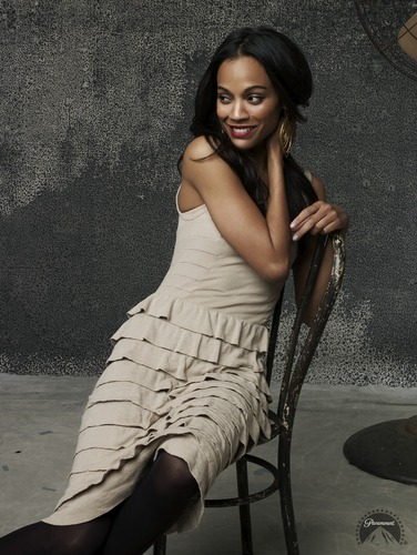Zoe Saldana | 星, つ星 Trek Promotional Photoshoot (2009)