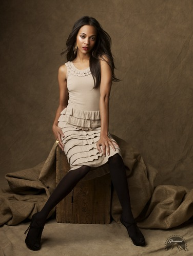 Zoe Saldana | bintang Trek Promotional Photoshoot (2009)