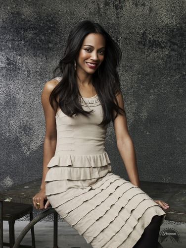 Zoe Saldana | étoile, star Trek Promotional Photoshoot (2009)